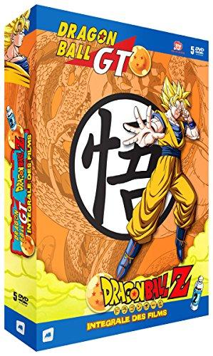 Dragon Ball Z & Dragon Ball GT - Intégrale des Films - Coffret Vol. 2 (5 DVD)