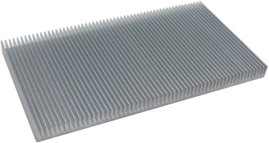 40mm/×40mm/×20mm 1PC Heat Sink Cooling Fin for High Power Amplifier Transistor Semiconductor KOZOREN Sliver Aluminum Chipset Heatsink