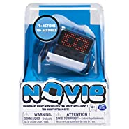 Novie, Interactive Smart Robot with Over 75 Actions & Learns 12 Tricks (Blue), for Kids Aged 4 & Up