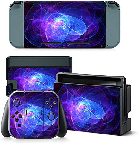 Nintendo Switch Skin Design Foils Faceplate Set - Spiral Motivo ...