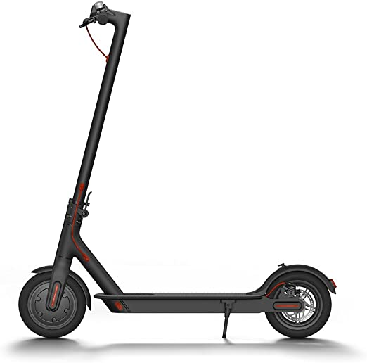 Amazon Com Xiaomi Mi Electric Scooter 18 6 Miles Long Range Battery Up To 15 5 Mph Easy Fold N Carry Design Ultra Lightweight Adult Electric Scooter Us Version With Warranty Sports Outdoors