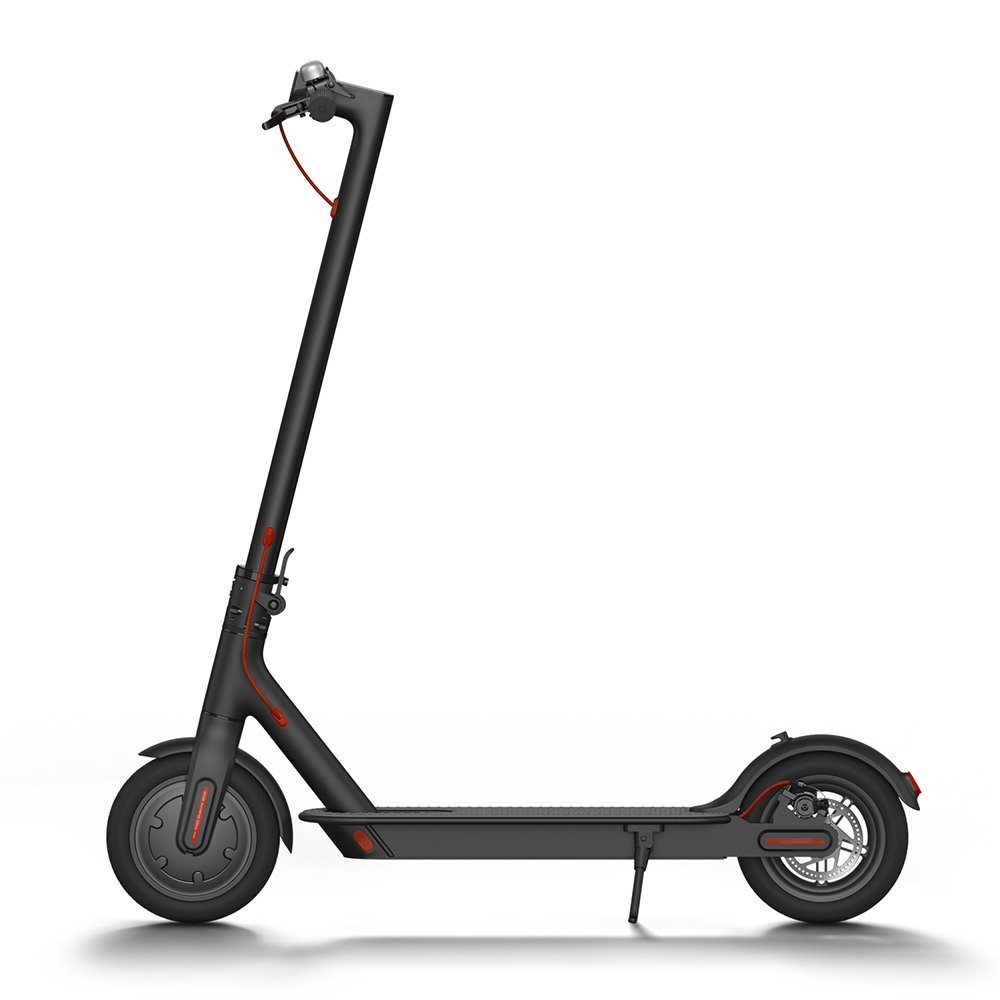 Xiaomi Mi Electric Scooter, 18.6 Miles Long-range Battery, Up to 15.5 MPH, Easy Fold-n-Carry Design, Ultra-Lightweight Adult Electric Scooter (US Version with Warranty) by Xiaomi
