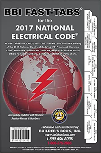 2017 national electrical code nec softcover tabs builders book inc 2017 national electrical code nec softcover tabs builders book inc 9781622701353 amazon books fandeluxe Gallery