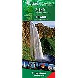 Island-Das Land der Vulkane, Autokarte 1:500.000, Welt Kompakt Serie freytag & berndt Auto + Freizeitkarten