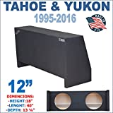 12'' Dual Sealed Sub Box, Fits CHEVY-TAHOE And GMC-YUKON1995-2016