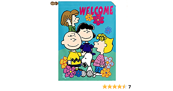 "Snoopy Halloween Flag BOO! 28/"" x 40/"""