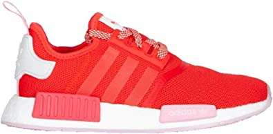 Amazon Com Adidas Nmd R1 Shoes Women S Red Red 9 5 Shoes