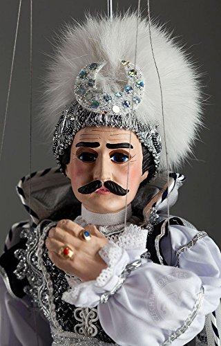 Black-Prince-Marionette-Czech-handmade-String-Puppet
