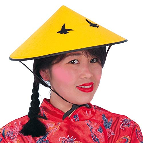 Carnival Toys 5604-Hat Chinese, Yellow/Black]()