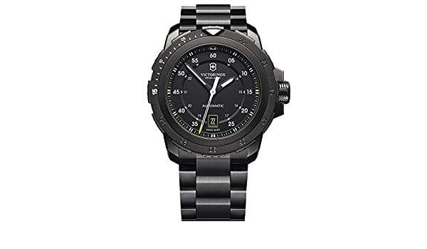 Amazon.com: Victorinox Swiss Army Alpnach Mechanical 241684 Automatic Mens Watch massive: Watches