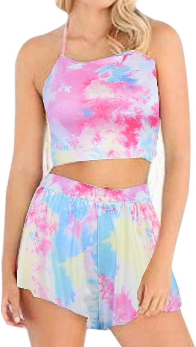DressLksnf Falda con Tirante Hermosa Moda de Mujer Original Blusa ...