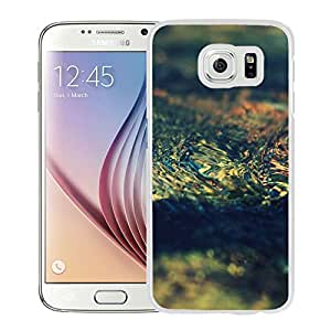 New Beautiful Custom Designed Cover Case For Samsung Galaxy S6 With Water Flowing Around A Rock (2) Phone Case