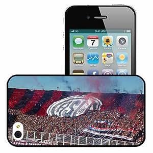 Personalized iPhone 5 5s Cell phone Case/Cover Skin San Lorenzo De Almagro Argentina Futbol Black