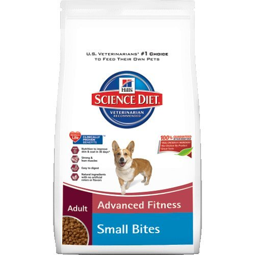 Hills Science Diet Adult Advanced Fitness Small Bites Dry Dog Food 38.5-Pound