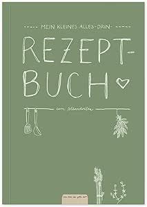 Pequeño libro de recetas Alles-Drin A5 para escribir