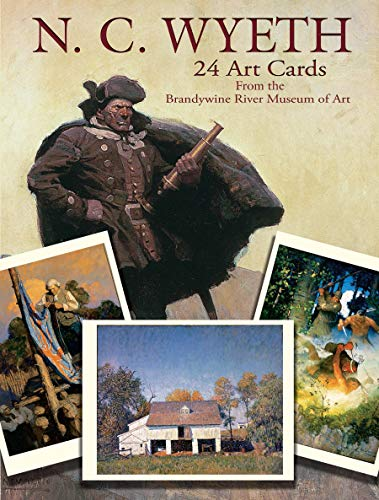 N. C. Wyeth 24 Art Cards: From The Brandywine River Museum of Art (Dover Postcards)