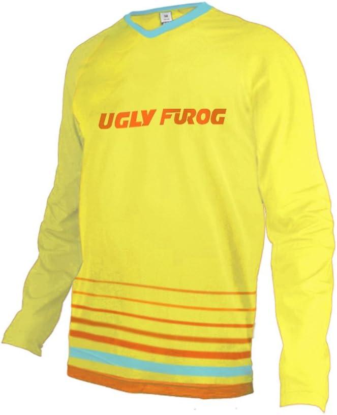 Uglyfrog Motocross//Downhill MTB Jersey Trikot MX Enduro Offroad Motorrad Kurze//Lange /Ärmel Erwachsene Auto /& Motorra Wear