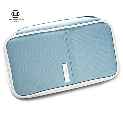 RFID Travel Wallet Passports Holder Document Organizer Package