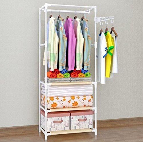 Perchero Revestimiento Escalera de Piso Dormitorio Colgador Colgador Simple Moderno (Color : Blanco): Amazon.es: Hogar