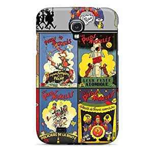 Abrahamcc Perfect Tpu Case For Galaxy S4/ Anti-scratch Protector Case (les Pieds Nickeles From 37 To 48)