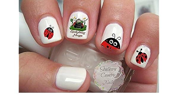 - Amazon.com : Ladybug Nail Art Decals : Beauty