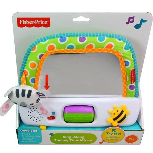 Sing Along Tummy Time Mirror by Fisher Price