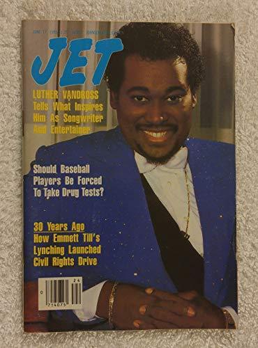 Luther Vandross Tells What Inspires Him As Songwriter & Entertainer - Jet Magazine - June 17, - Songwriter Magazine