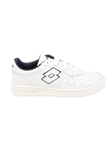 LOTTO HOMME T811WHITE BLANC CUIR BASKETS