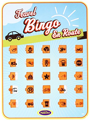 PlaSmart Travel Bingo Board Game