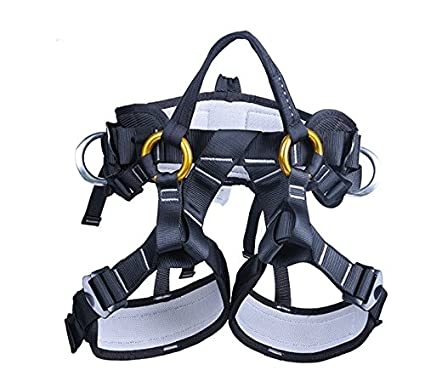 51Qtl2P9AlL._SX425_ amazon com yxgood treestand harness, tree working safety belt