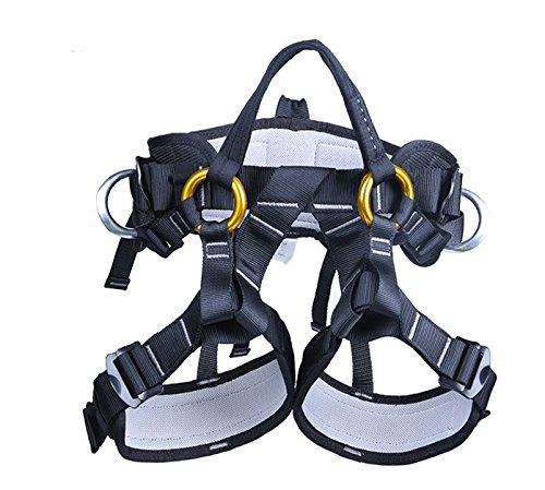 YXGOOD Treestand Harness, Tree Working Safety Belt, Climbing Harness For Garden Art Clip, Tree Clip, Firefighting On Tree (Foam Firefighting)