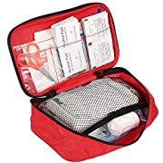 180 Piece First Aid Kits, Includes Sterile Gauze, Bandage, Scissors for Home, Car, Camping, Office, Boat, Sports and…