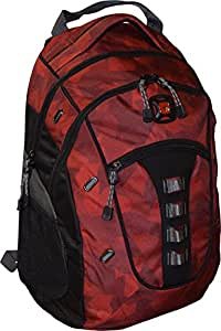 """Wenger Granite Backpack with 16"""" Laptop Pocket, Red Camo"""