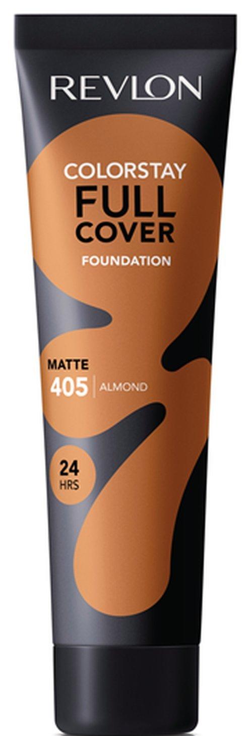 Revlon ColorStay Full Cover Foundation, Almond, 1.0 Fluid Ounce