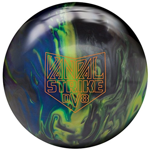 DV8 Vandal Strike Black/Yellow/Blue Pearl, 15lbs