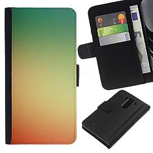 All Phone Most Case / Oferta Especial Cáscara Funda de cuero Monedero Cubierta de proteccion Caso / Wallet Case for LG G3 // Yellow Red Sunset Summer Sun Warm