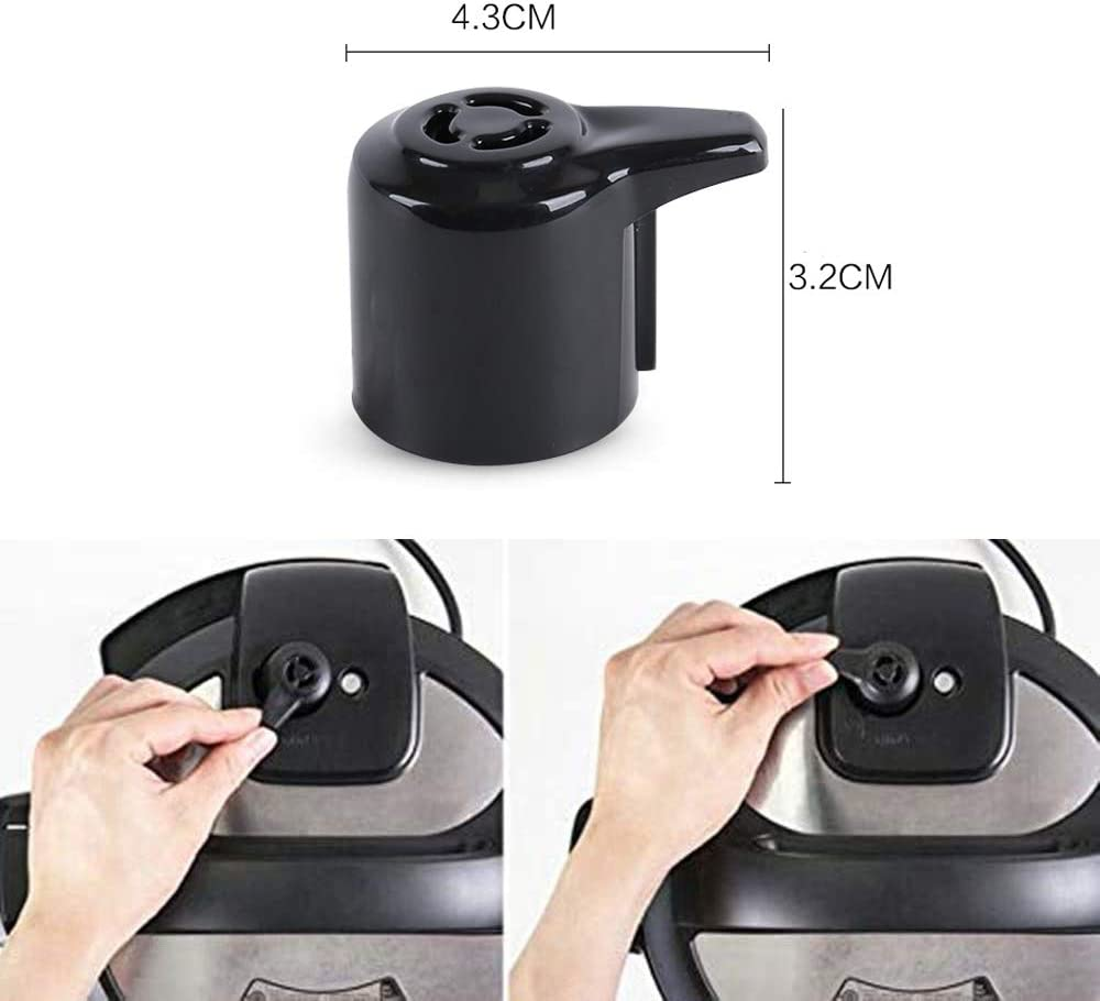 Steam Release Vale (Pressure Vale) for Instant Pot Duo Mini 3 Qt, Duo Plus Mini 3 Qt, DUO60 6 Qt and DUO80 8 Qt Programmable Pressure Cooker Replacement Handle
