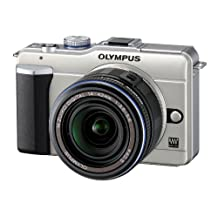 Olympus PEN E-PL1 12.3MP Live MOS Micro Four Thirds Interchangeable Lens Digital Camera with 14-42mm f/3.5-5.6 Zuiko Digital Zoom Lens (Gold)