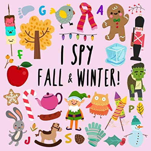 I Spy  Fall and Winter: A Fun Picture Puzzle Book for 35 Year Olds
