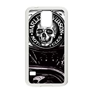 Custom Skull Logo Motorcycle Cover Case protector for Samsung Galaxy S5