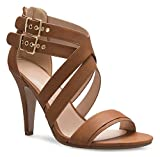 OLIVIA K Women's Sexy Modern High Heel Sandals Strappy Zipper Adjustable Buckles - Unique, Comfort