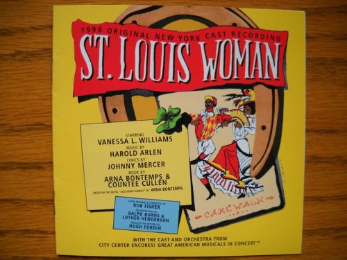 Signed CD from St. Louis WomanThe 1998 Encores! City Center Cast . Autographed by Stanley Wayne Mathis , Wayne Pretlow , Joseph Webster , Sherrita Duran - City Cast Signed