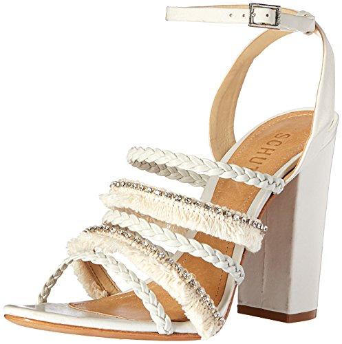 Schutz Women's Milina Dress Sandal Pearl Nu4TrC1