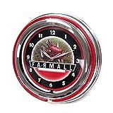 Key Enterprises International Harvester McCormick Farmall 15 Inch Double Neon Wall Clock