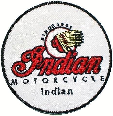 INDIAN marcas motos bicicletas JacketsEmbroidered Logo para coser ...