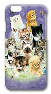 10 Kittens Custom iphone 6 plus 5.5 inch Case Cover Polycarbonate 3D
