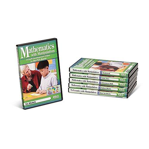 ETA hand2mind Staff Development Video Series: Mathematics with Manipulatives by Marilyn Burns, 6 DVD Set by ETA hand2mind
