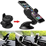 Best Welcomeuni 1340 MP3 Players - Welcomeuni Universal 360°Rotating Car Windshield Mount Holder St Review