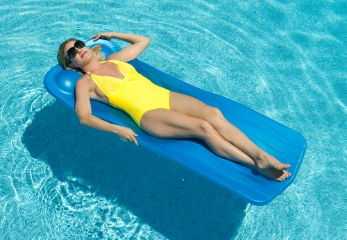 - Sunsolar Aquaria Marquis Swimming Pool Float - Blue