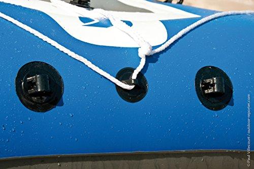 Amazon.com : Sevylor Caravelle Bateau gonflable 2+1 personnes Bleu/blanc : Sports & Outdoors